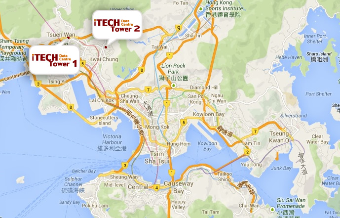 itech towers location